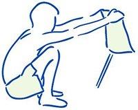 Figuur 2 - Aspecifieke lage rugklachten - Rekken spieren onderrug