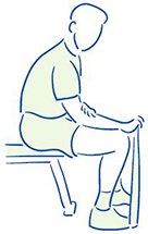 Figuur 4 - Tenniselleboog - Versterken van de polsstrekkers