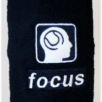 slim tennis zweetbandje focus
