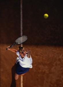 Tennistip 18 Service verbeteren met een ritueel