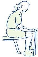 Figuur 2 - Polsblessure - Tendinopathie - Versterken van de polsbuigers