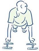 Figuur 4 - Polsblessure - Tendinopathie - Opdrukken met een handsteun