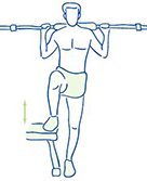 Figuur 3 - Kniepijn - Blessure buitenzijde knie - Versterken van bilspieren