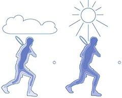 tennissen in de hitte - lichaamstemperatuur