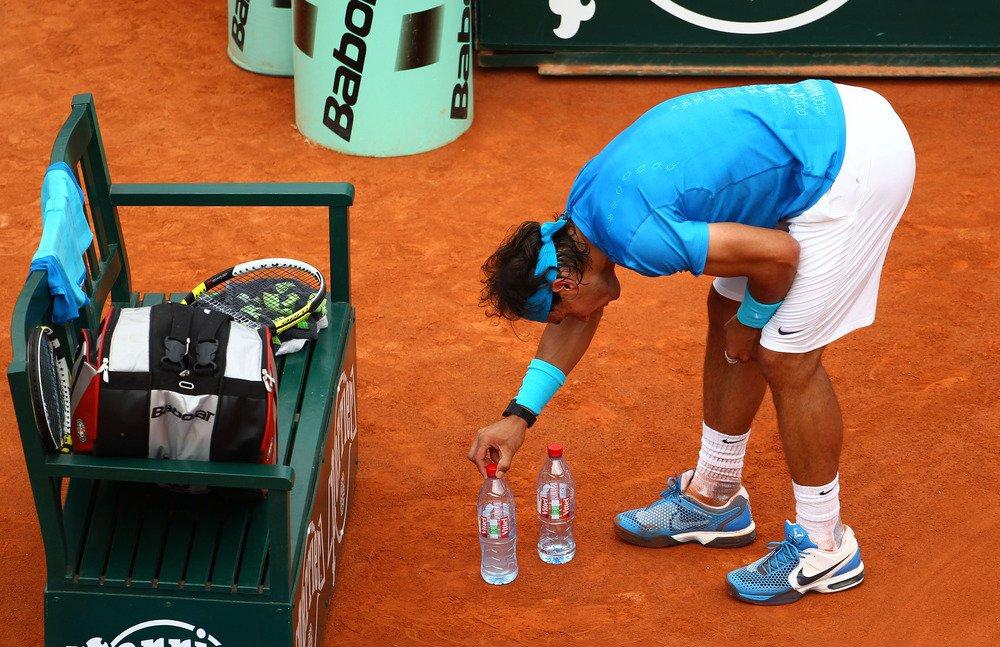 bijgeloof in het tennis