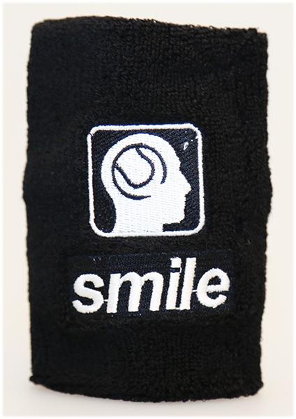 slim tennis zweetbandje smile