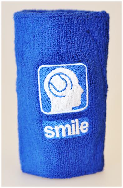slim-tennis-zweetbandje-smile